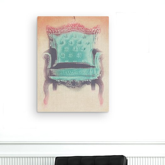 Oliver Gal The Throne Graphic Art on Canvas