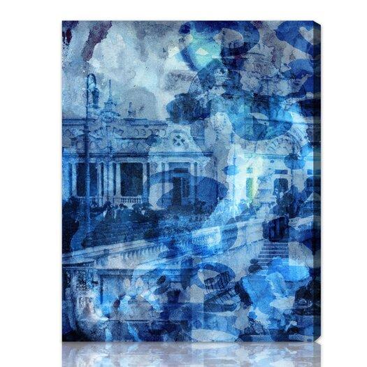 ''Deep Sea'' Graphic Art on Canvas
