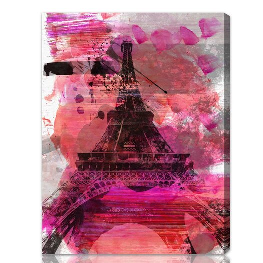 Oliver Gal ''Wild Paris'' Graphic Art on Canvas