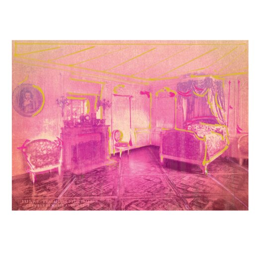 Oliver Gal ''Marie Antoinette Chambers'' Graphic Art on Canvas