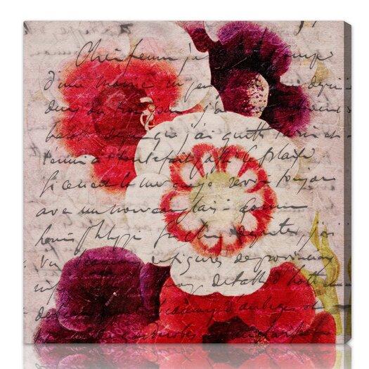 ''Victor Hugo Love Declaration'' Graphic Art on Canvas