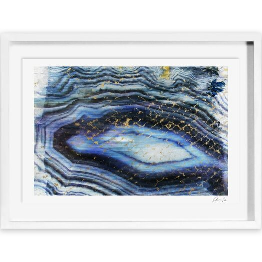 Sea of Gold Framed Painting Print