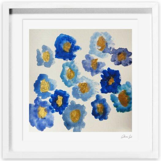Ana's Garden Framed Painting Print