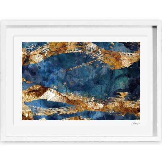 Marea Alta Framed Painting Print
