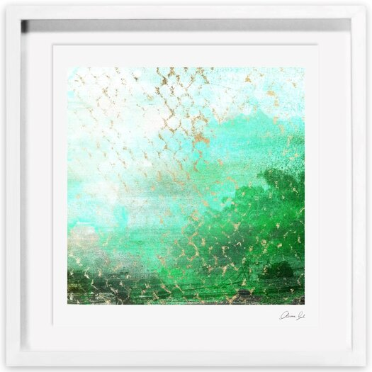 Faevert Meadows Framed Painting Print