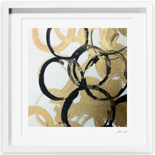 Burana Framed Graphic Art