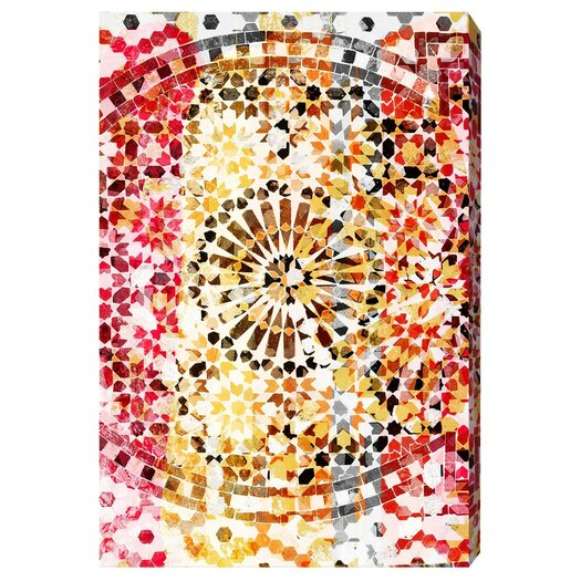 Dreams in Marrakesh Graphic Art on Wrapped Canvas