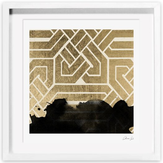 Introspect Deco Framed Painting Print