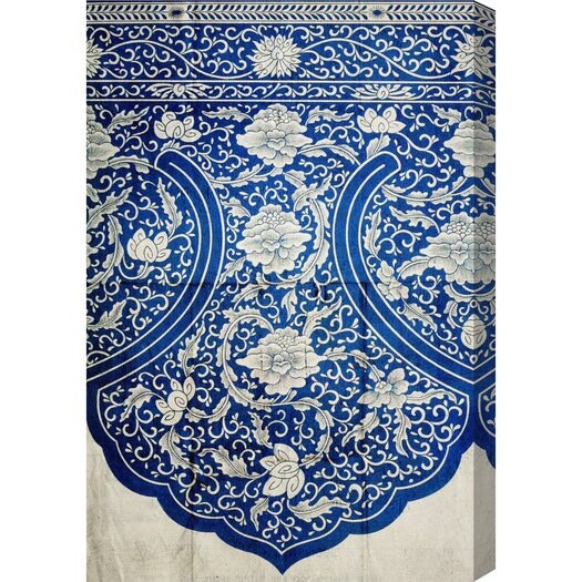 Ornamental Design 1867 Graphic Art on Wrapped Canvas