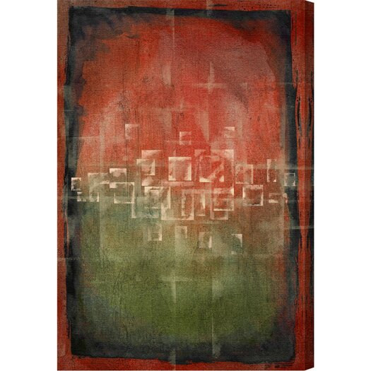 Amsterdam Fields Graphic Art on Wrapped Canvas