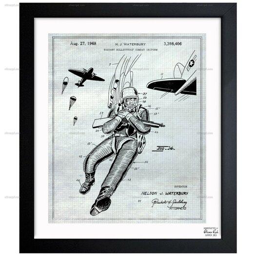 Buoyant Bulletproof Combat Uniform 1968 #1 Framed Painting Print
