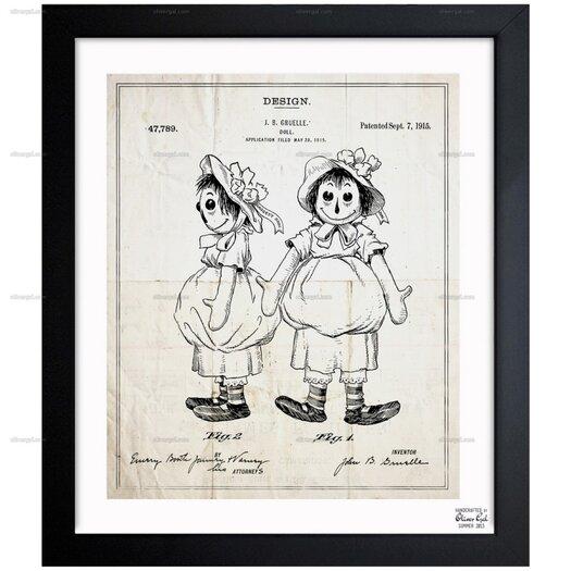 Rag Doll 1915 Framed Graphic Art