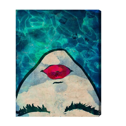 Oliver Gal Watercoveted Graphic Art on Canvas