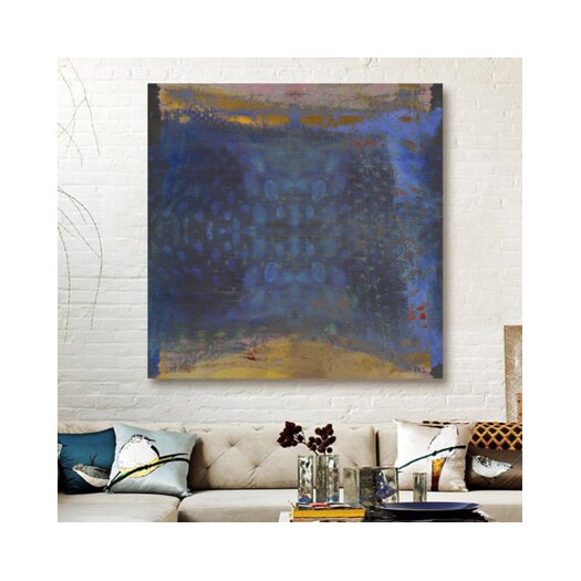 Oliver Gal Golden Beach Painting Print on Canvas
