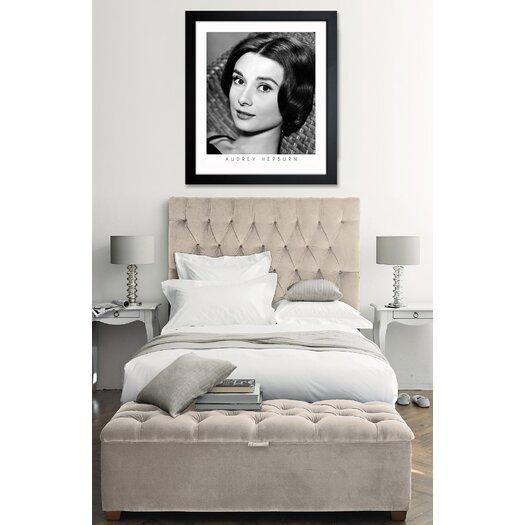 Oliver Gal ''Audrey Hepburn'' Framed Photographic Print