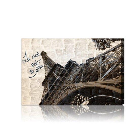 Oliver Gal ''La Vie est Belle'' Graphic Art on Canvas