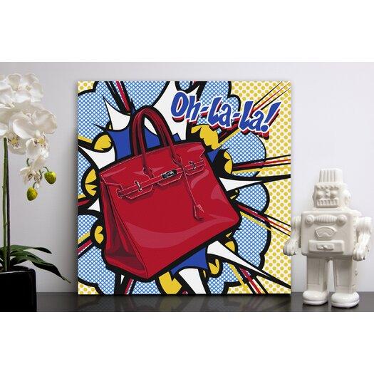 "Oliver Gal ""Oh La La"" Graphic Art on Canvas"