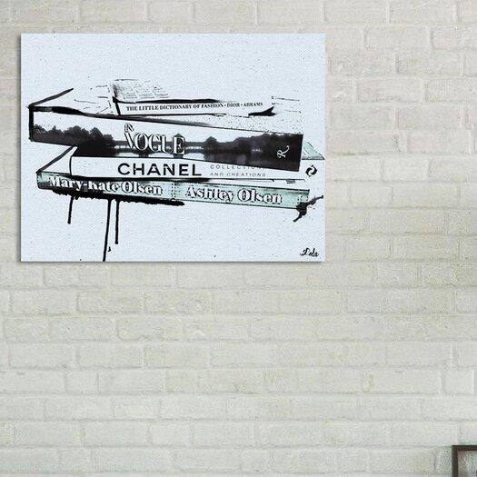 """Oliver Gal """"En Vogue"""" Graphic Art on Canvas"""