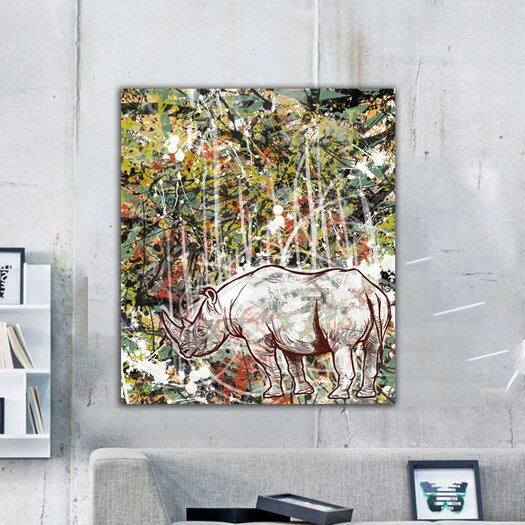 """Oliver Gal """"Wild"""" Graphic Art on Canvas"""