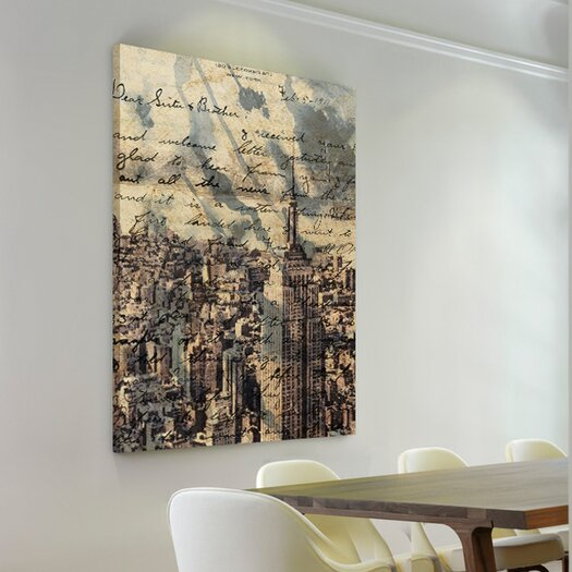 "Oliver Gal ""The Empire"" Graphic Art on Canvas"
