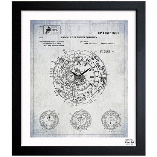World Time Watch 2009 Framed Graphic Art