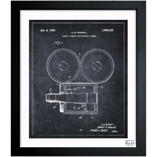 Oliver Gal Direct Viewing Photographic Camera 1929 Framed Graphic Art