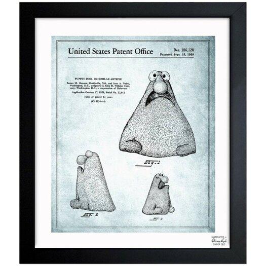 Oliver Gal Jim Henson Puppet Doll 1958 Framed Graphic Art