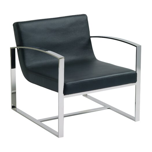Corbin Lounge Chair in Black