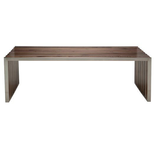 American Amici Wool Entryway Bench