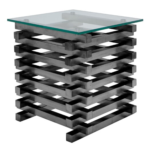 Stacked End Table