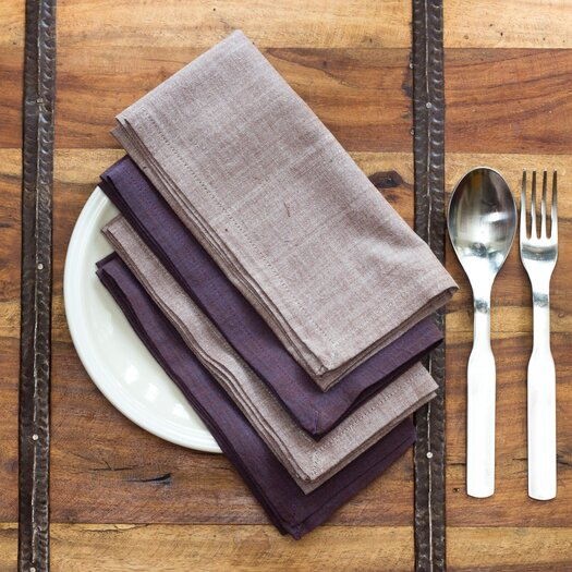 Sustainable Threads Heather Napkins