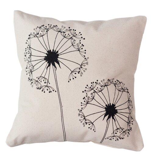 Sustainable Threads Dandelion Throw Pillow