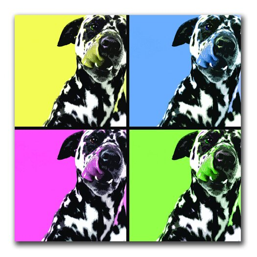 Trademark Fine Art Dalmatians by Gifty Idea Greeting Cards And Suchon Photographic Print on Canvas