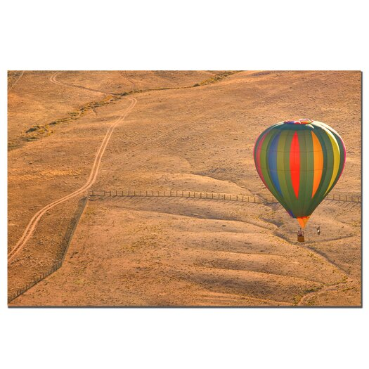 Trademark Fine Art Lonesome Road Balloon by Aianaon Photographic Print on Canvas