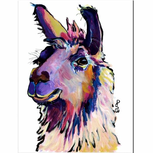 Trademark Fine Art 'Fabio' by Pat Saunders-White Painting Print on Canvas