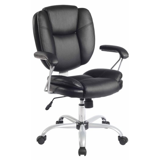 Techni Mobili Mid Back Comfort Soft Managerial Office Chair