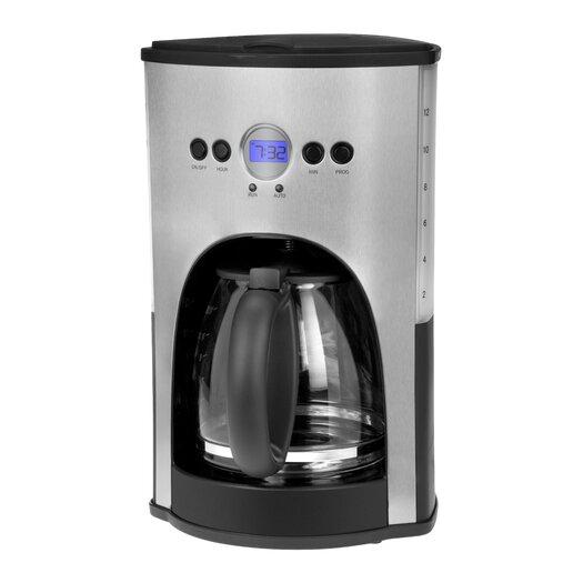Kalorik 12 Cup Coffee Maker in Silver