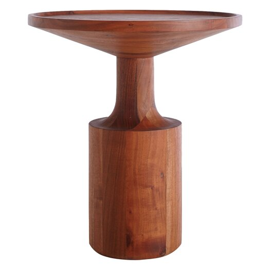 Turn Tall End Table