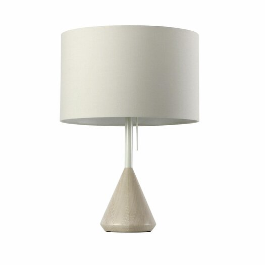 "Blu Dot Flask 24.6"" H Table Lamp with Drum Shade"