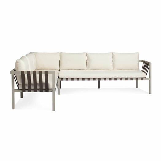 Jibe Extra Left Arm Sectional with Cushion