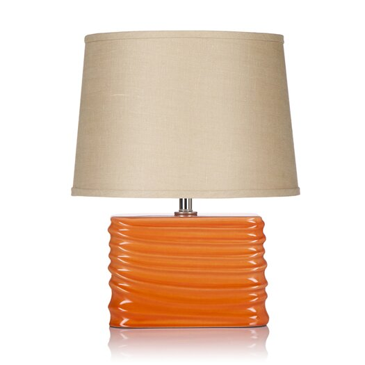 "Krush Spin Blush 20"" H Table Lamp with Empire Shade"