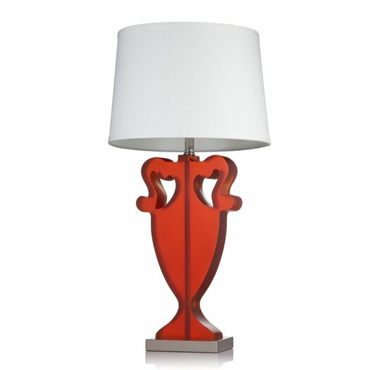 "Krush Kurve Lea 30"" H Table Lamp with Empire Shade"