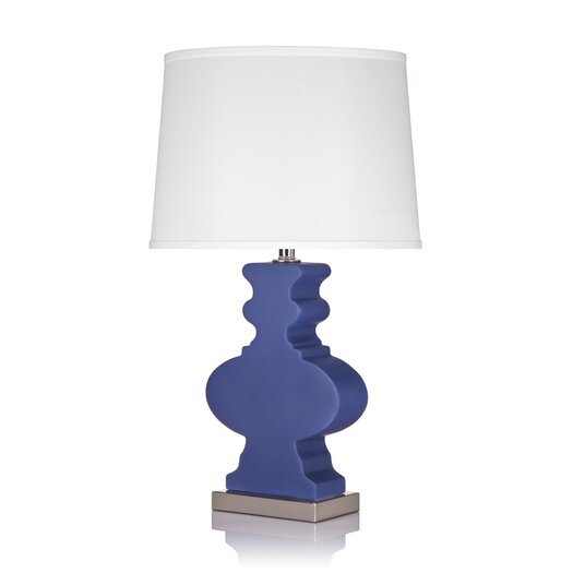"Krush Ami Ami  25.5"" H Table Lamp with Empire Shade"