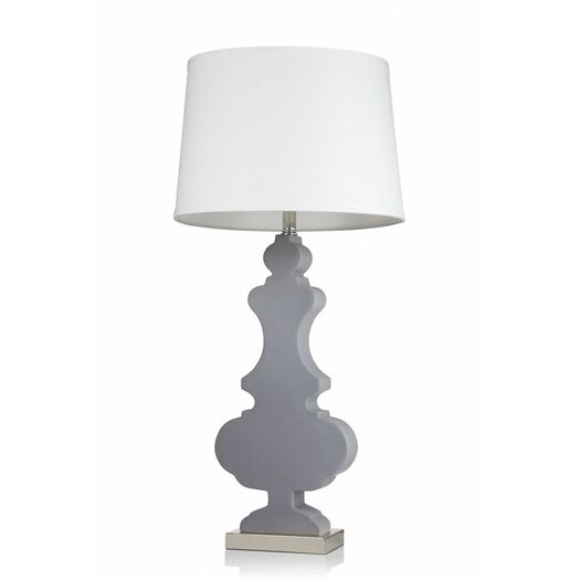 """Krush Kurve Elle 33"""" H Table Lamp with Empire Shade"""