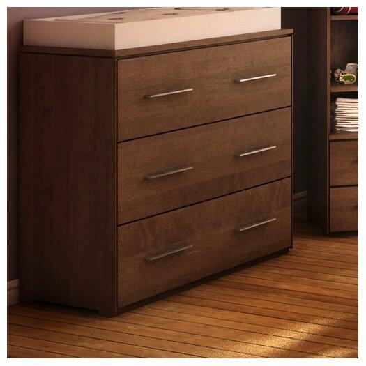 Kidz Decoeur York 3 Drawer Dresser