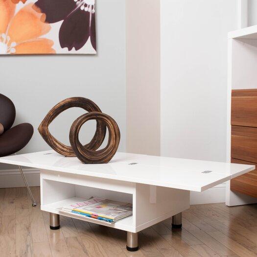 Matrix Juno White Functional Multi-Shape Coffee Table
