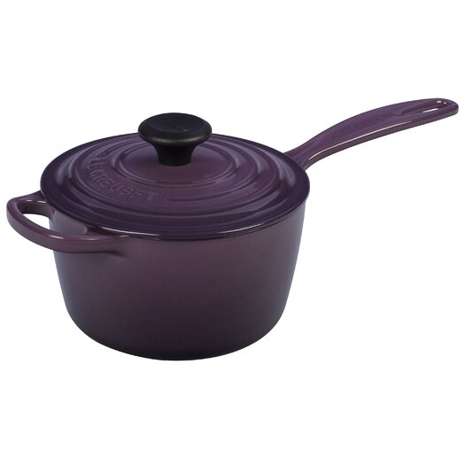 Le Creuset Cast Iron Precision Pour Saucepan with Lid