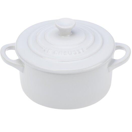 Le Creuset 0.25 Qt. Stoneware Round Casserole