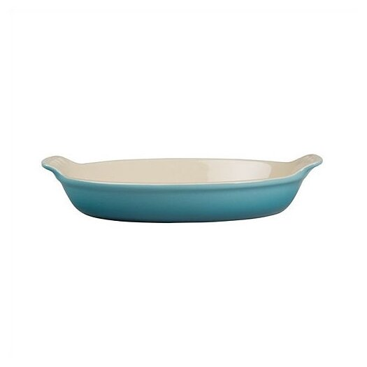 Le Creuset Heritage Stoneware Oval Au Gratin Dish