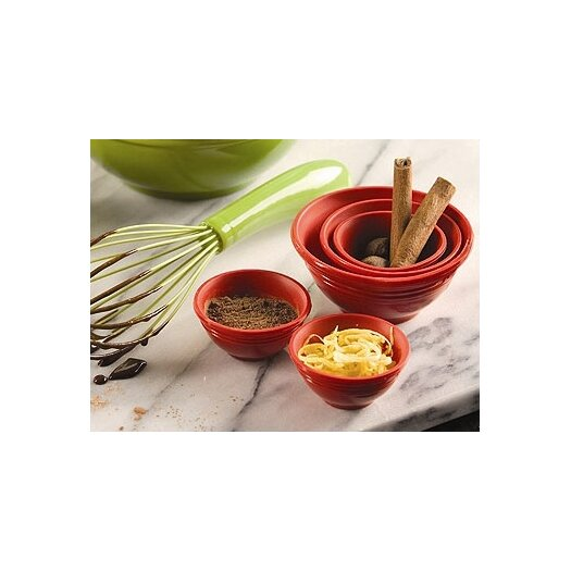 Le Creuset Prep Bowls in Cherry (Set of 4)